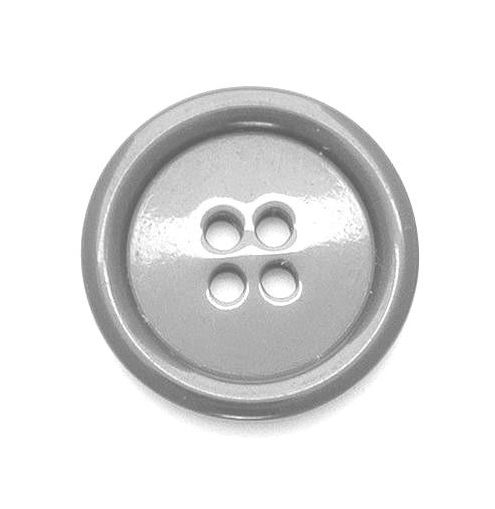 P975-99-36L Grey Coat 23mm Buttons x 10