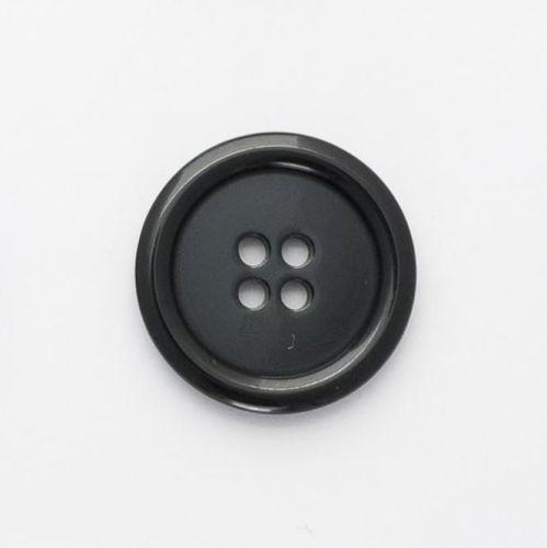P975-Blk-32L Black Coat 21mm Buttons x 10