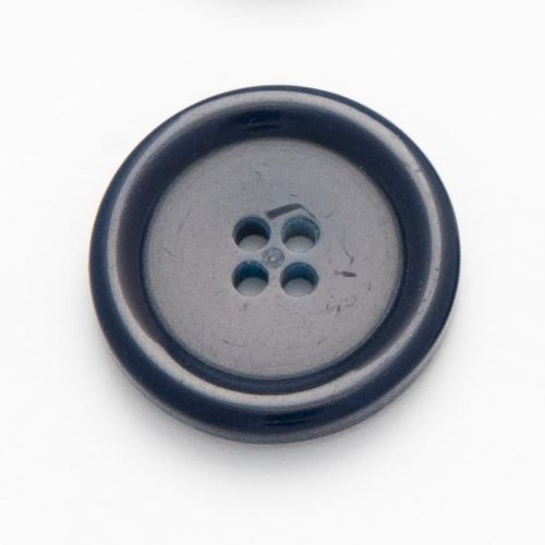 CM755-25-36L Navy Blue Coat 23mm Buttons x 10