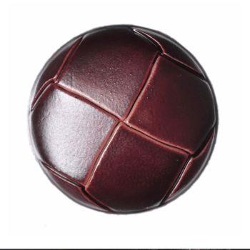 G2276-40L Brown Football 25mm Buttons x 10