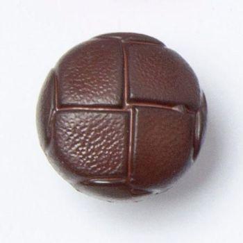 CN500-48-36L Brown Football 23mm Buttons x 10