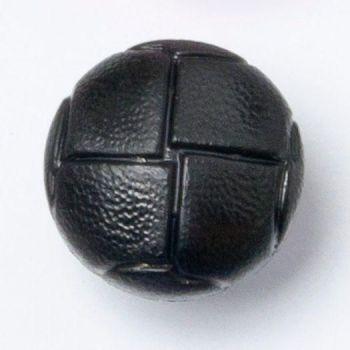 CN500-10-24L Black Football 15mm Buttons x 10