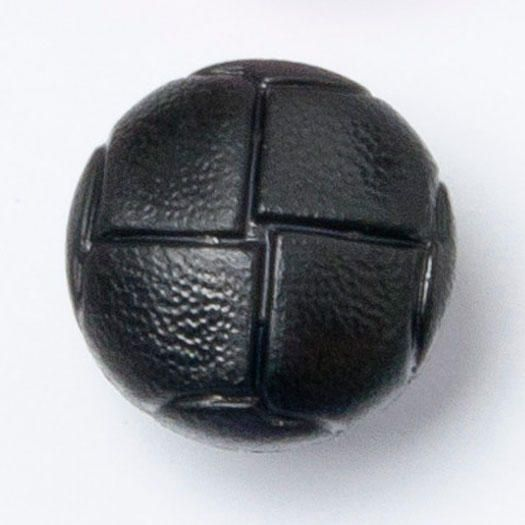 CN500-10-24L Black Football 15mm Buttons x 10