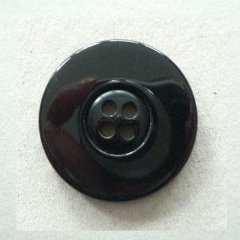 BCL123-Blk-60L Black Coat 38mm Button