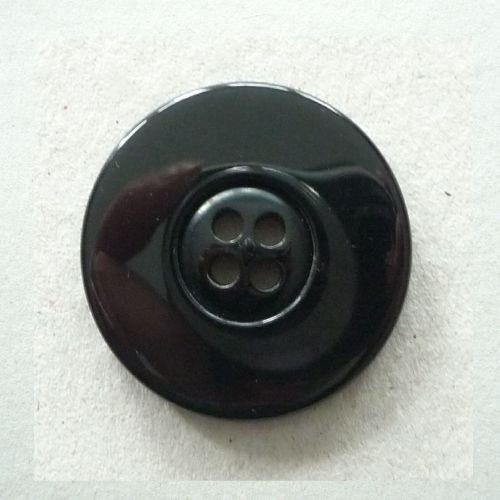 BCL-Blk-60L Black Coat 38mm Buttons