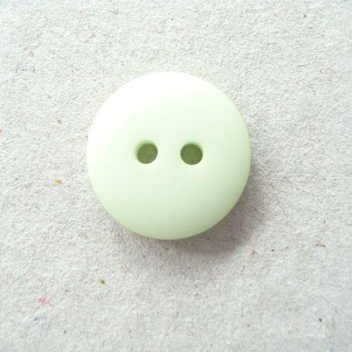 P128-54-24L Mint Green 15mm Buttons x 10