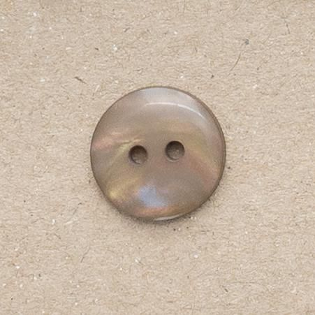 P1080-45-28L Bronze Brown Pearlescent 18mm Buttons x 10