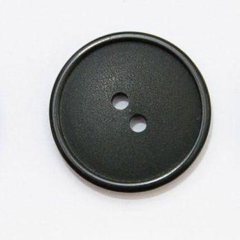 P600-Blk-26L Black Coat 18mm Buttons x 10