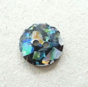 CP19-M-20L Black Opal 13mm Buttons x 10