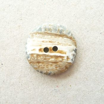 CP34-24L Natural Stone Coat 15mm Buttons x 10