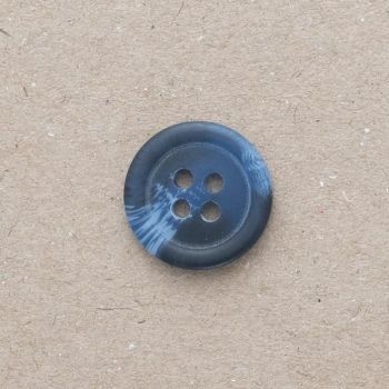 P151-208-12L Navy Blue 8mm Buttons x 10