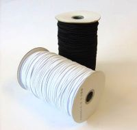 3mm Round Black Elastic BRE020B