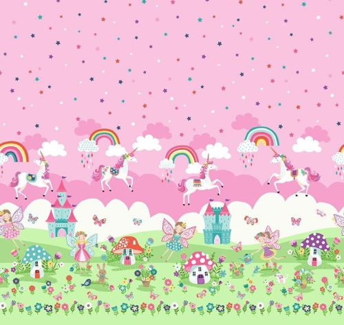 2281 Daydream Double Border - Fairies
