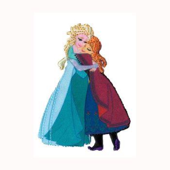 34006 Frozen - Elsa & Anna Motif