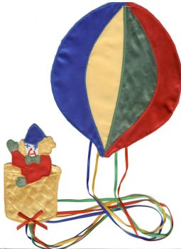 M017 Clown and Balloon Motif