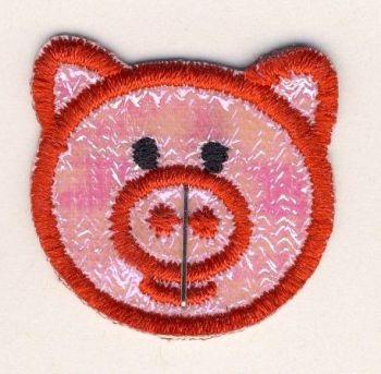 M004 Piggy Face Motif