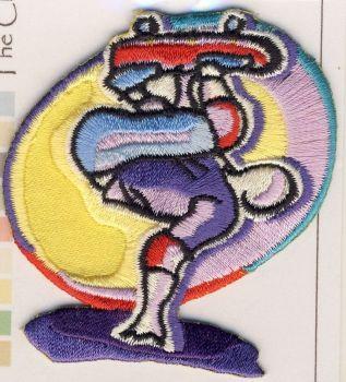 M011 Skateboarder Motif