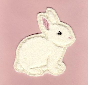 M016-L Soft Touch Bunny - Lemon Motif