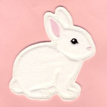 M016-I Soft Touch Bunny - Ivory Motif
