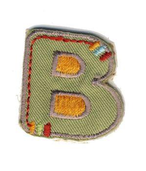 LET-B Iron On Letter B Motif