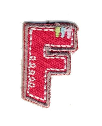 LET-F Iron On Letter F