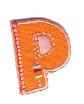 LET-P   Iron On Letter P Motif