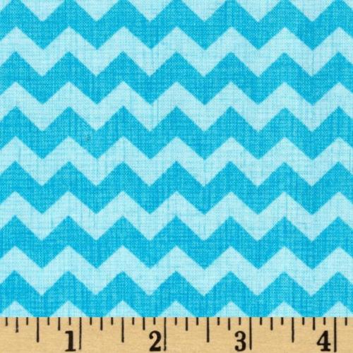 C1397 - Zigzag Aqua