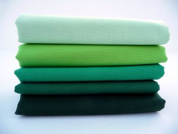 FQB7 Fat Quarter Bundle - Greens
