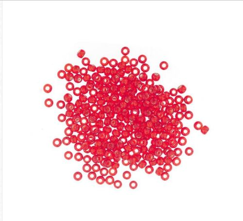 3043 Oriental Red Mill Hill Antique Seed Beads
