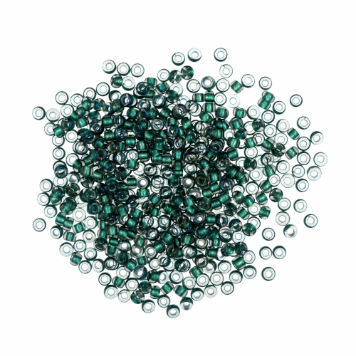 45270 Bottle Green Mill Hill Petite Seed Beads