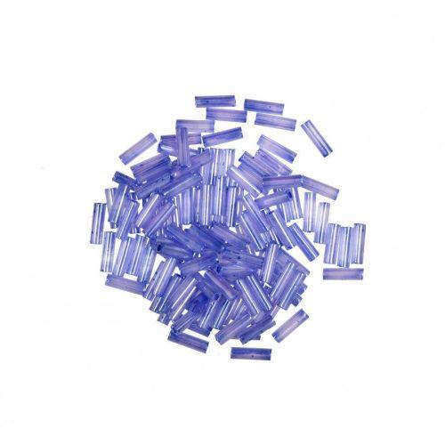 72009 ice Lilac Small Mill Hill Glass Bugle Beads