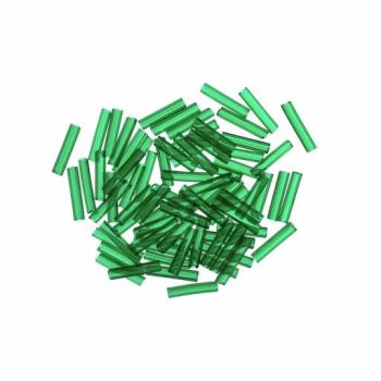 82020 Creme de Mint Medium Mill Hill Glass Bugle Beads