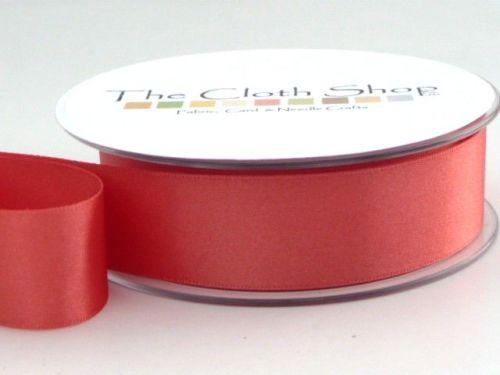 Double Satin Ribbon Coral 3501-22
