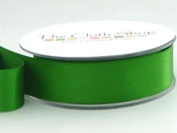 Double Satin Ribbon Emerald 3501-23