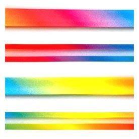 Rainbow Satin Bias Binding 903699