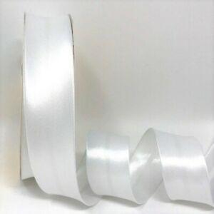 White Satin Bias Binding Q11-01