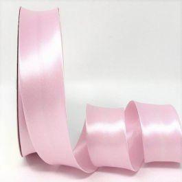 Pale Pink Satin Bias Binding Q11-57
