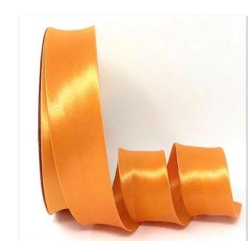 Orange Satin Bias Binding Q11-44