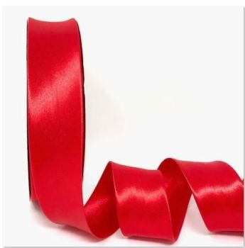 Red Satin Bias Binding Q11-47