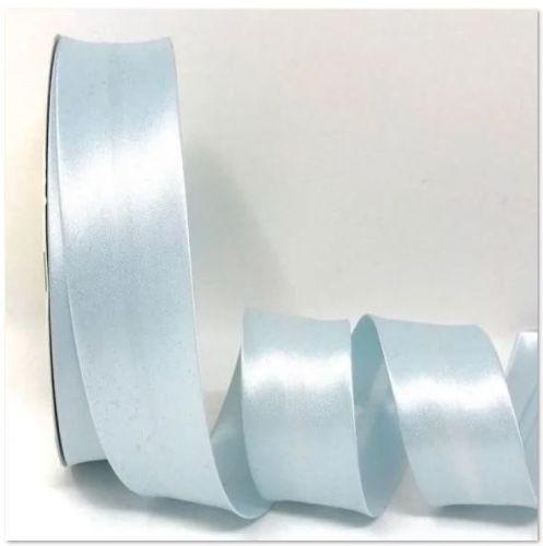 Pale Blue Satin Bias Binding Q11-07