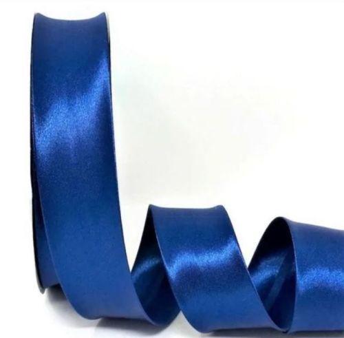 Royal Blue Satin Bias Binding Q11-49