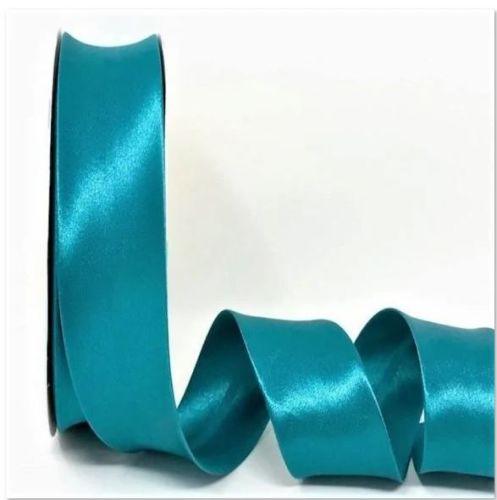 Turquoise Satin Bias Binding Q11-17