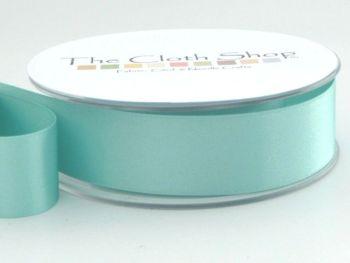 Double Satin Ribbon New Turquoise 3501-48