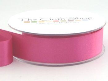 Double Satin Ribbon Shocking Pink 3501-72