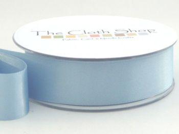 Double Satin Ribbon Cornflower Blue 3501-76