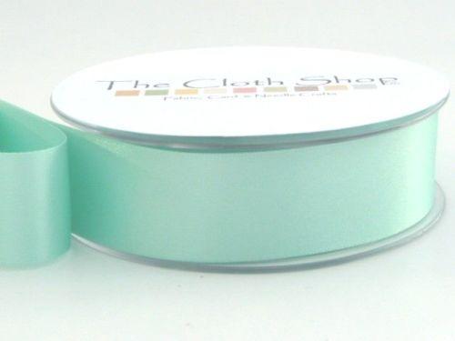 Double Satin Ribbon Aqua 3501-78