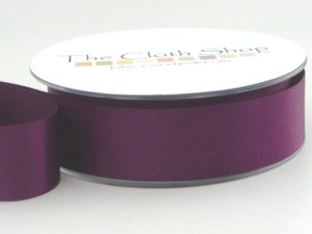 Double Satin Ribbon Liberty Purple 3501-952