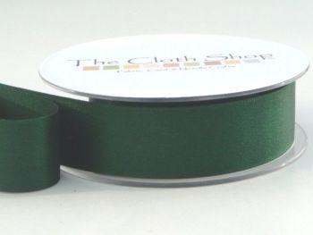 Double Satin Ribbon Forest Green 3501-969