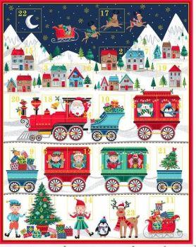 2387 Santa Express Christmas Advent Calendar