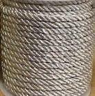 Lurex Cord - Silver 3mm